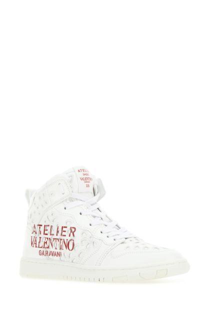 White leather Atelier 08 San Gallo Edition sneakers