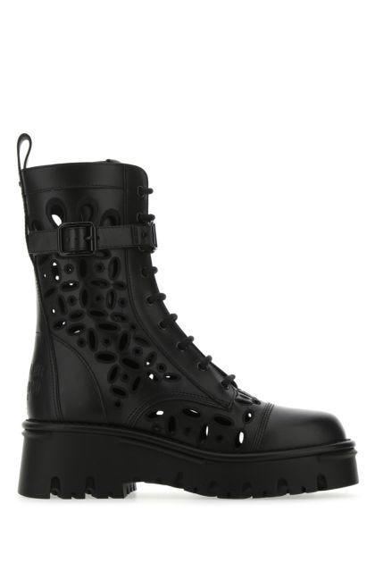 Black leather Atelier Shoes 08 boots