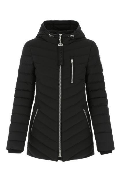 Black stretch polyester Rockcliff down jacket