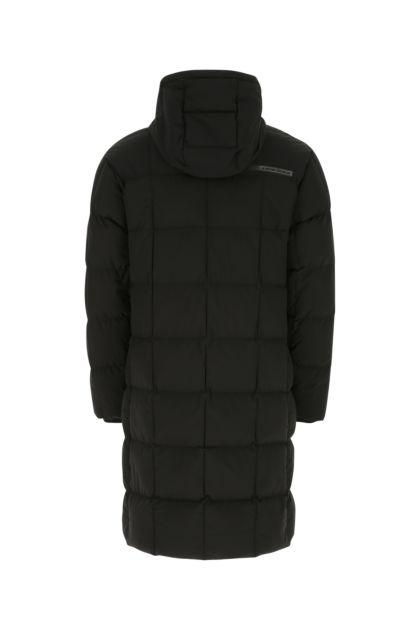Black stretch polyester Kawka down jacket