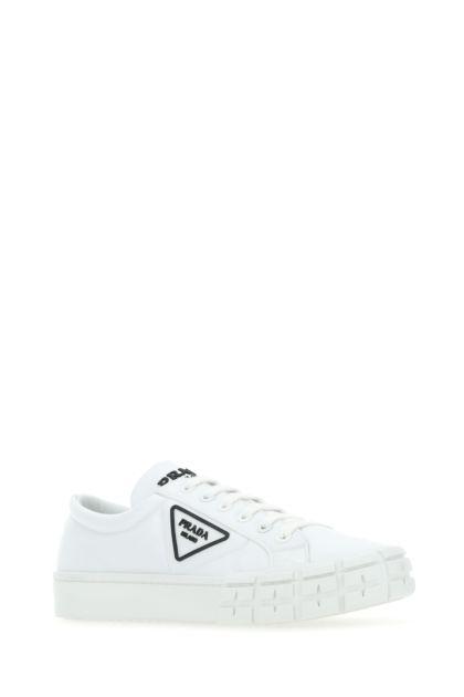 White Re-nylon Wheel sneakers