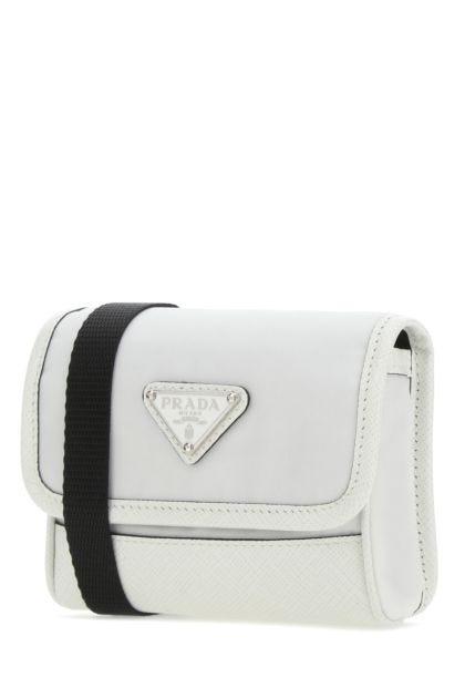 White Re-Nylon pouch