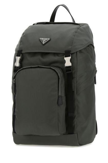 Charcoa Re-nylon backpack