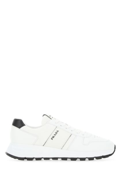 White leather and mesh Prada PRAX 01 sneakers