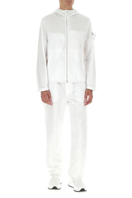 White Re-nylon jacket