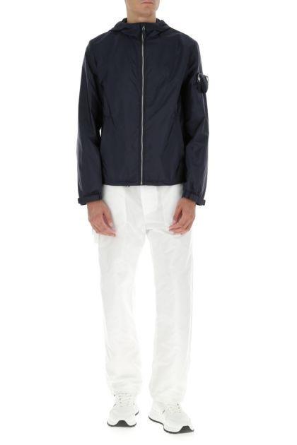 Navy blue Re-nylon jacket