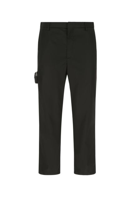 Black Re-nylon pant