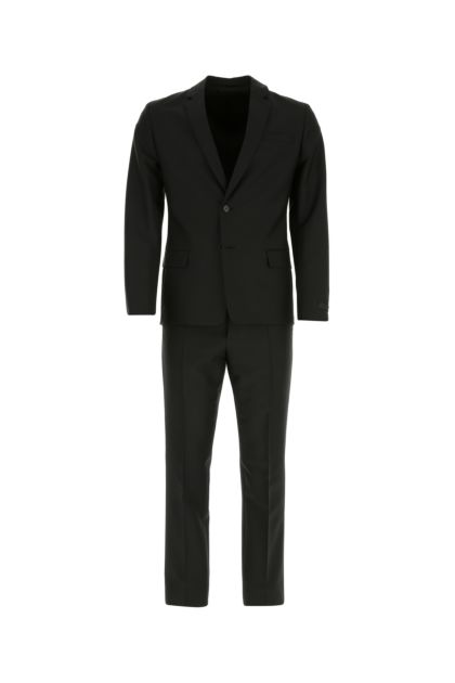 Slate mohair blend suit