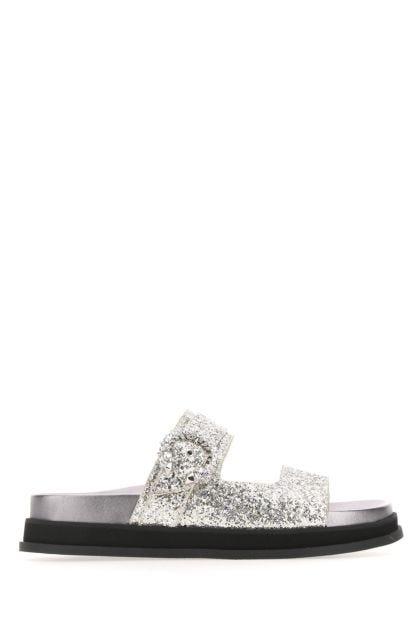 Embellished fabric Marga Flat slippers