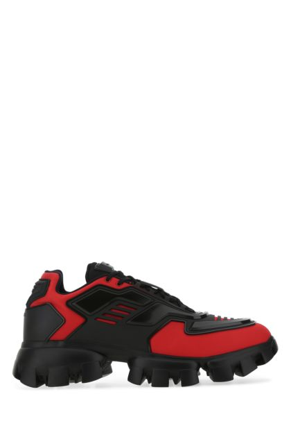 Two-tone fabric and rubber Cloudbust Thunder sneakers
