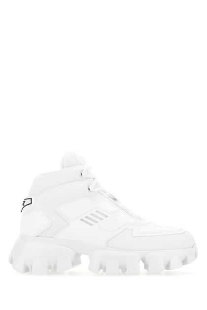White fabric and rubber Cloudbust Thunder sneakers