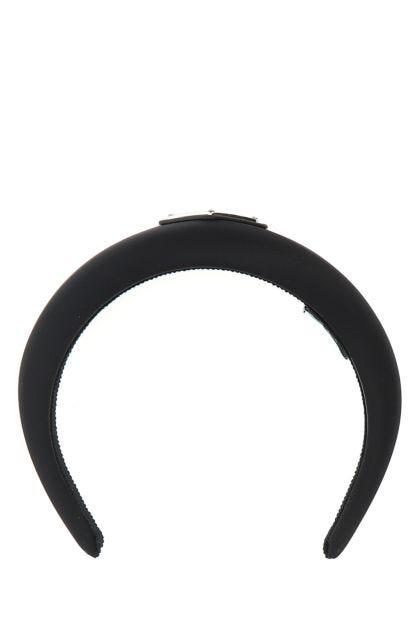 Black Re-nylon headband