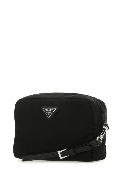 Black nylon beauty case