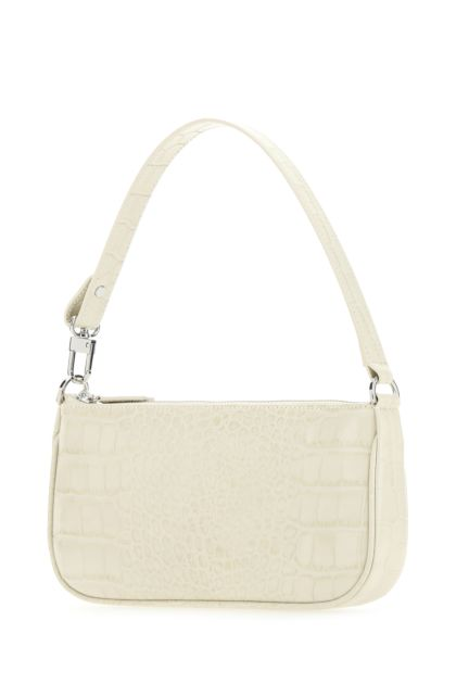 Ivory leather Rachel handbag