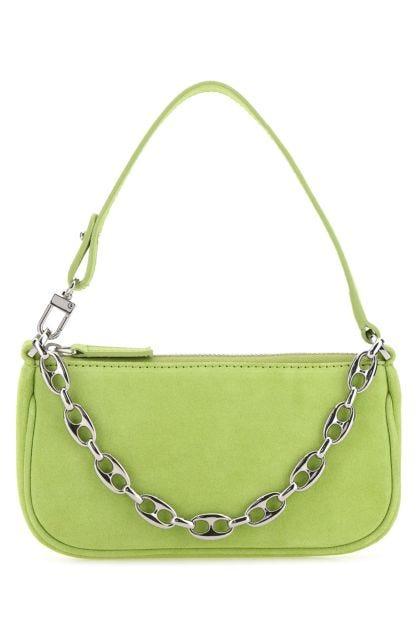 Green nubuck mini Rachel handbag
