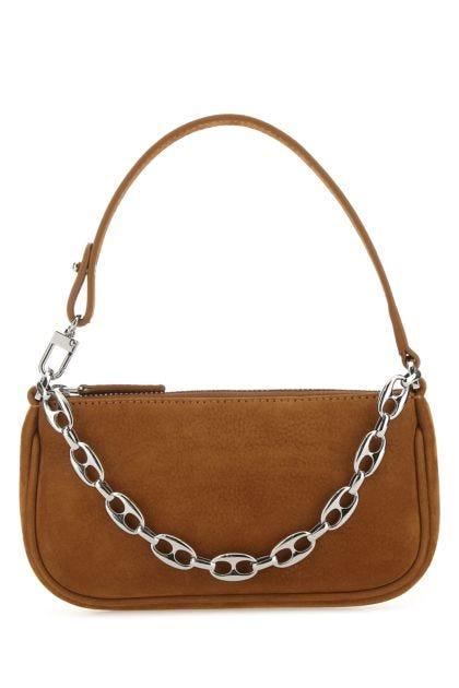 Camel nubuck mini Rachel handbag