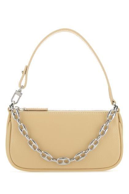 Sand leather mini Rachel handbag