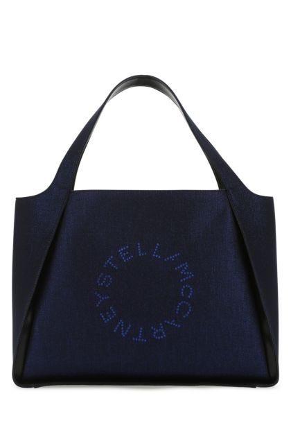 Blue fabric tote Stella Logo handbag