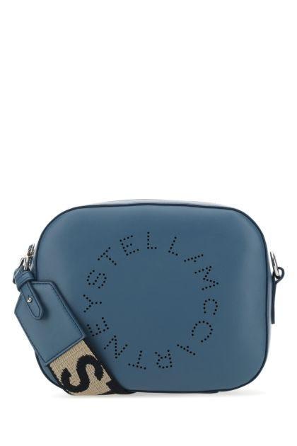 Air force blue alter nappa mini Stella Logo crossbody bag