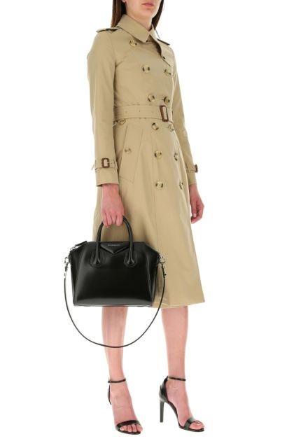 Beige cotton Chelsea trench coat