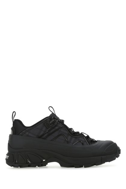 Embroidered tech fabric Arthur sneakers