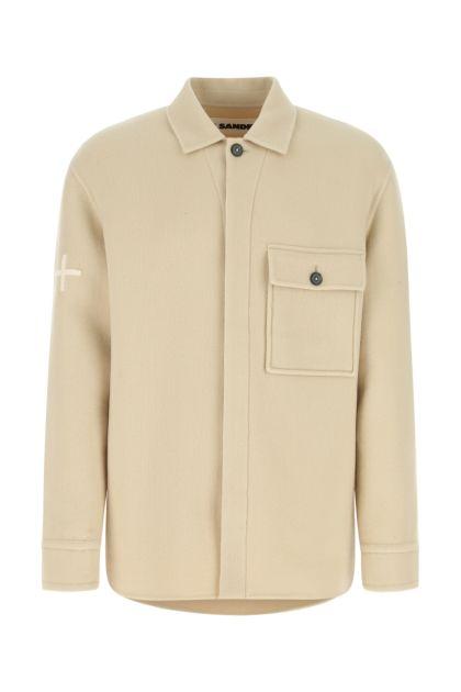 Sand wool shirt