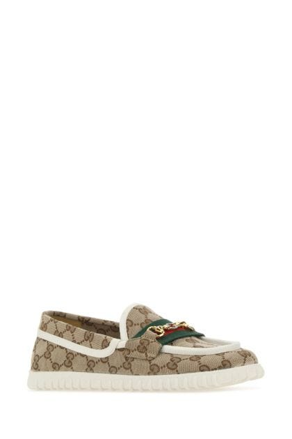 GG Supreme fabric loafers
