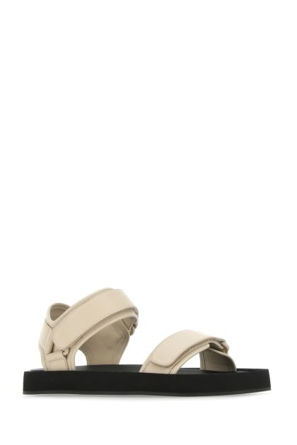 Sand nappa leather Hook-and-Loop II sandals