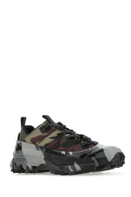 Printed tech fabric Arthur sneakers