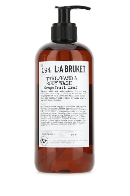 Grapefruit Leaf hand and body wash