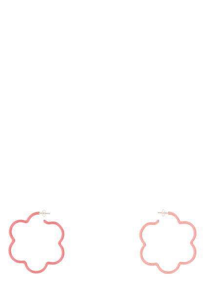 Two-tone Flower Power earrings