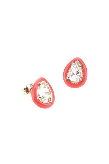 Pink Gum Drop earrings