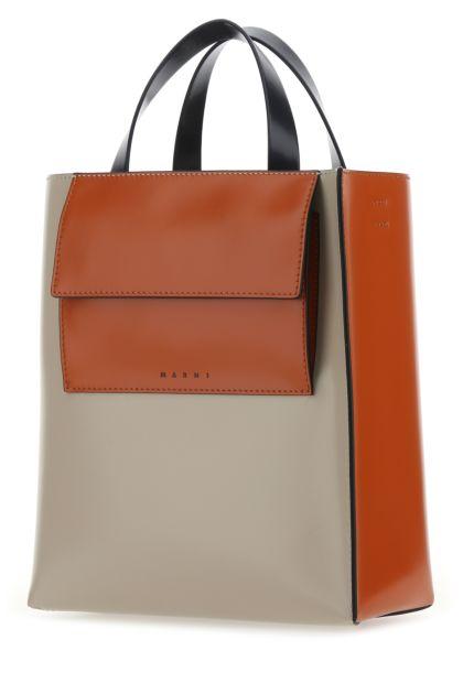 Multicolor leather Museo handbag