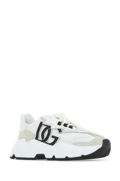 Multicolor fabric and leather Daymaster sneakers