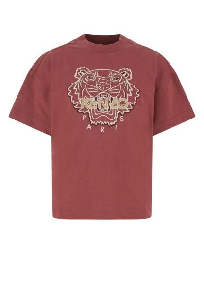 Tiryan purple cotton t-shirt