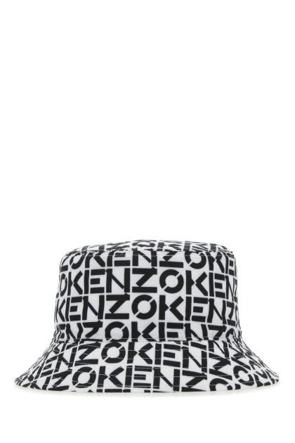 Printed polyester blend hat