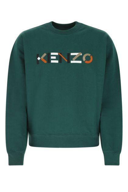 Petroleum cotton sweatshirt
