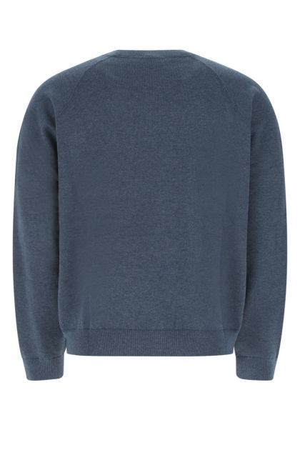 Air force blue wool blend sweater