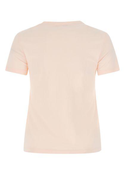 Pastel pink cotton t-shirt