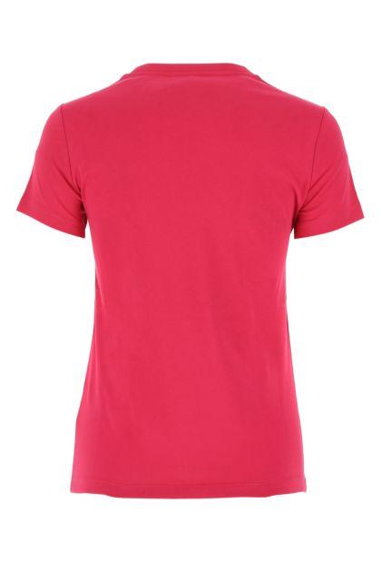 Fuchsia cotton t-shirt