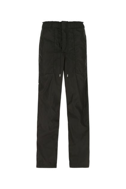 Black nylon pant