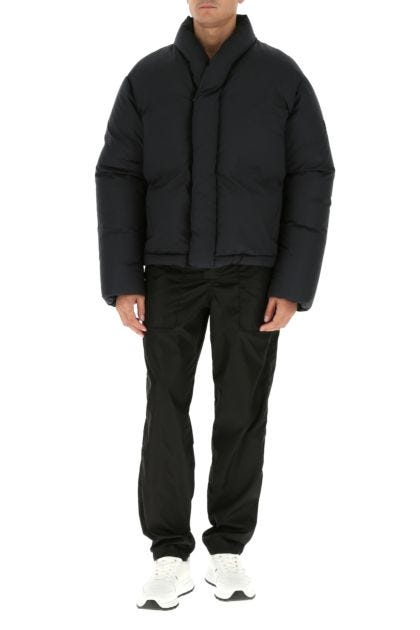 Slate cotton down jacket