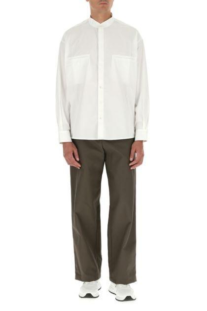 White poplin shirt