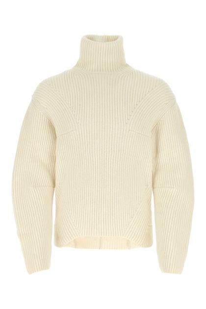 Ivory wool blend sweater
