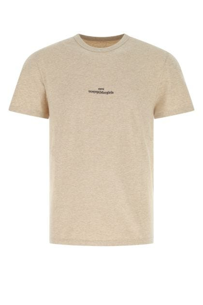Cappuccino cotton t-shirt