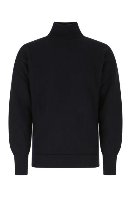 Midnight blue wool sweater