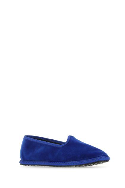 Electric blue velvet Lapislazzuli furlane
