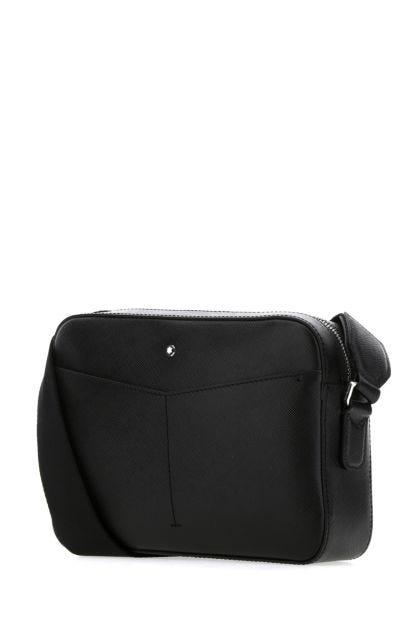 Black leather Sartorial crossbody bag
