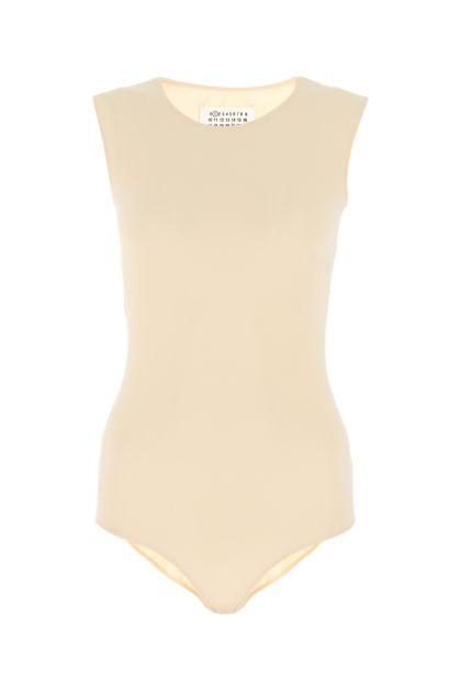 Pastel pink stretch nylon body