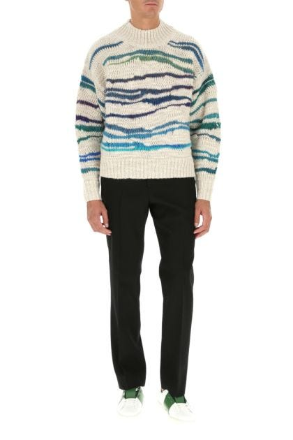 Embroidered wool blend Seth sweater